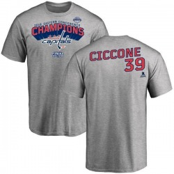 Youth Enrico Ciccone Washington Capitals 2018 Eastern Conference Champions Long Change T-Shirt - Heather Gray